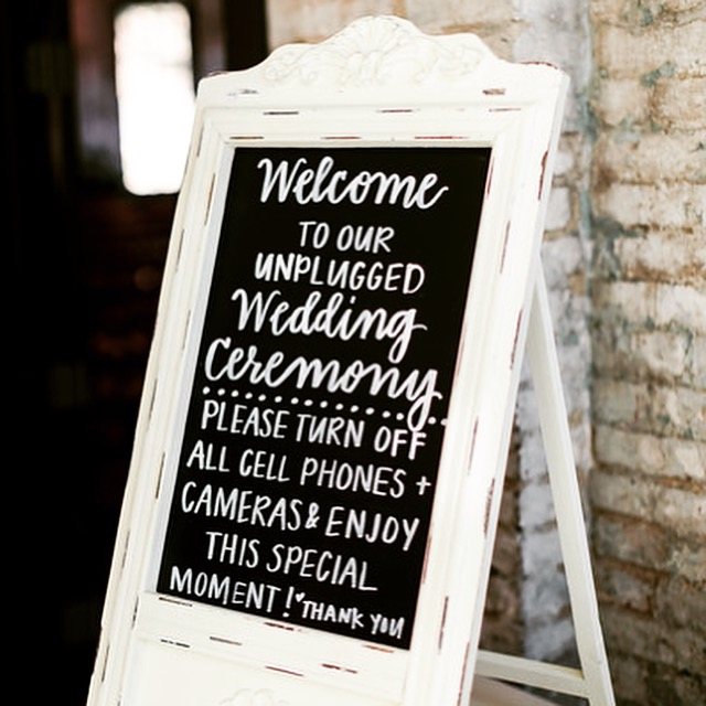 Custom Chalkboard Sign by Priscilla Anne
