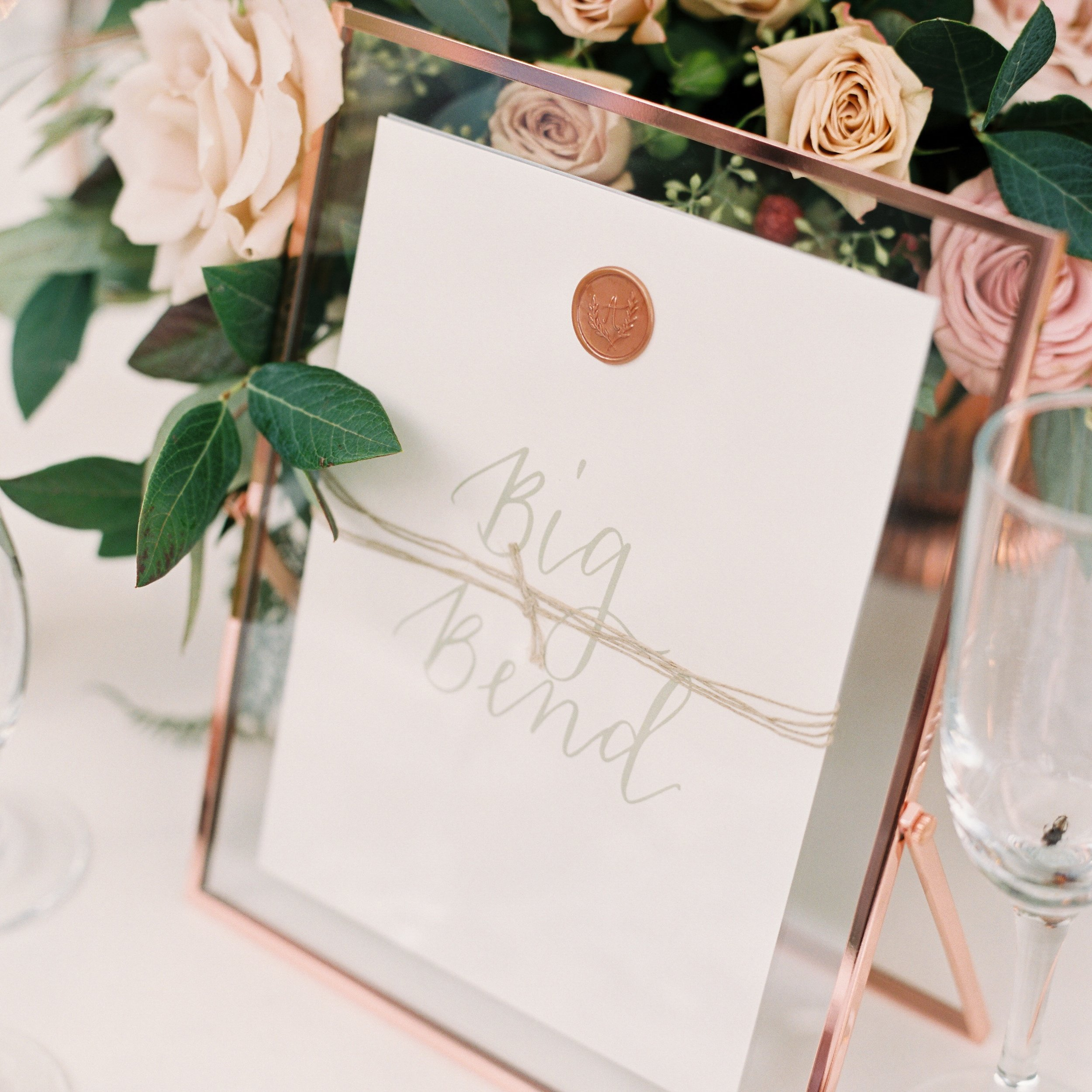 Table Names by Priscilla Anne