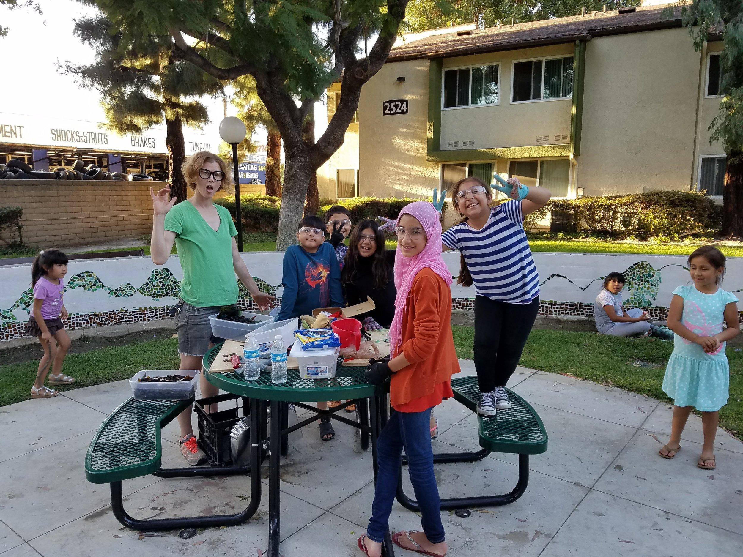 Rebecca Chernow and the Sullivan Manor crew.
