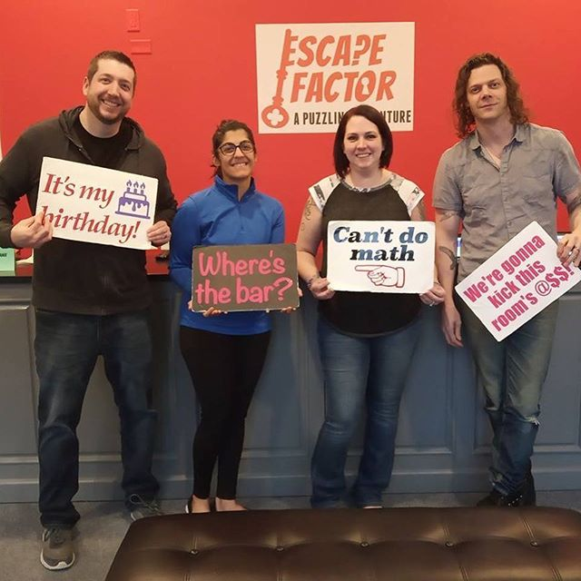 Our awesome escapees from this weekend!