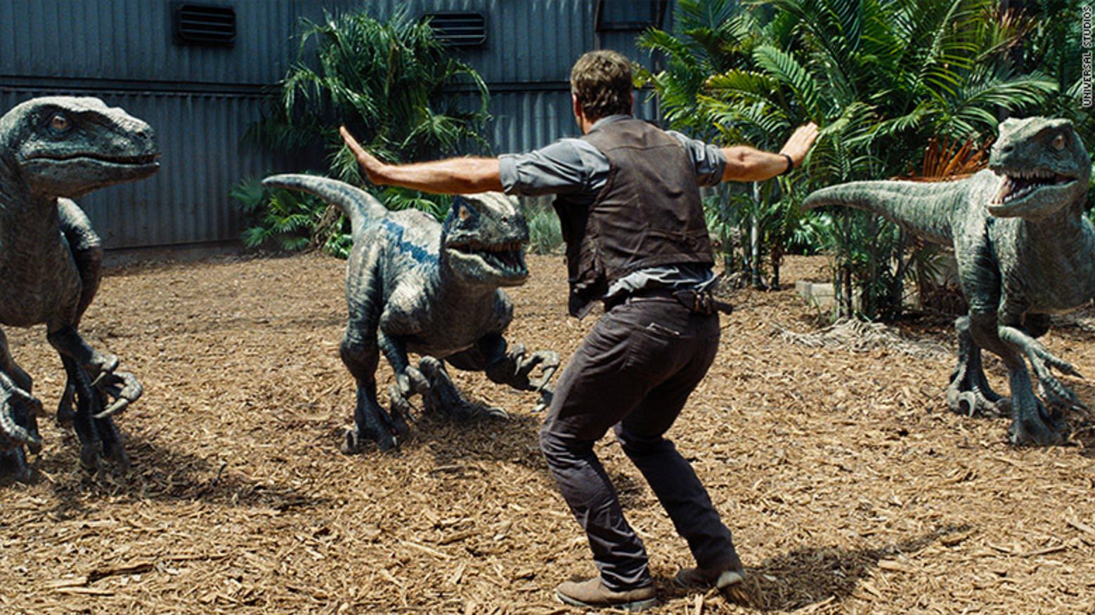 Doggies! I mean, Velociraptors!
