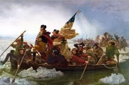 """George Washington Crossing the Delaware"""