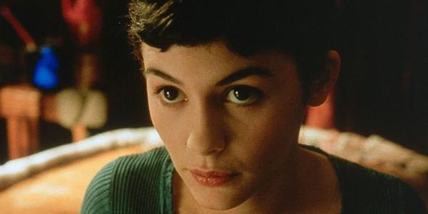 Audrey Tautou as the titular Amélie
