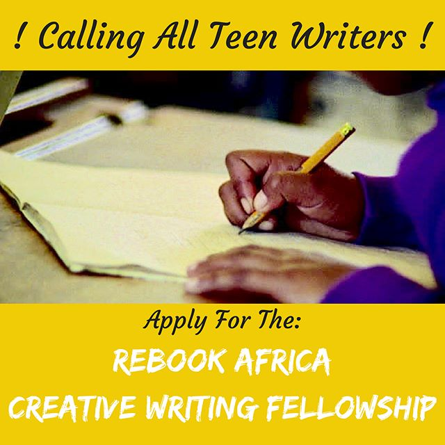 [SWIPE LEFT ⬅️] Are you a teenager? Do you love writing? Do you reside in Lagos? Then this is for you! Apply at the link provided on the flyer!  #repost #creativewriting #teens #Lagos #arts #culture #community