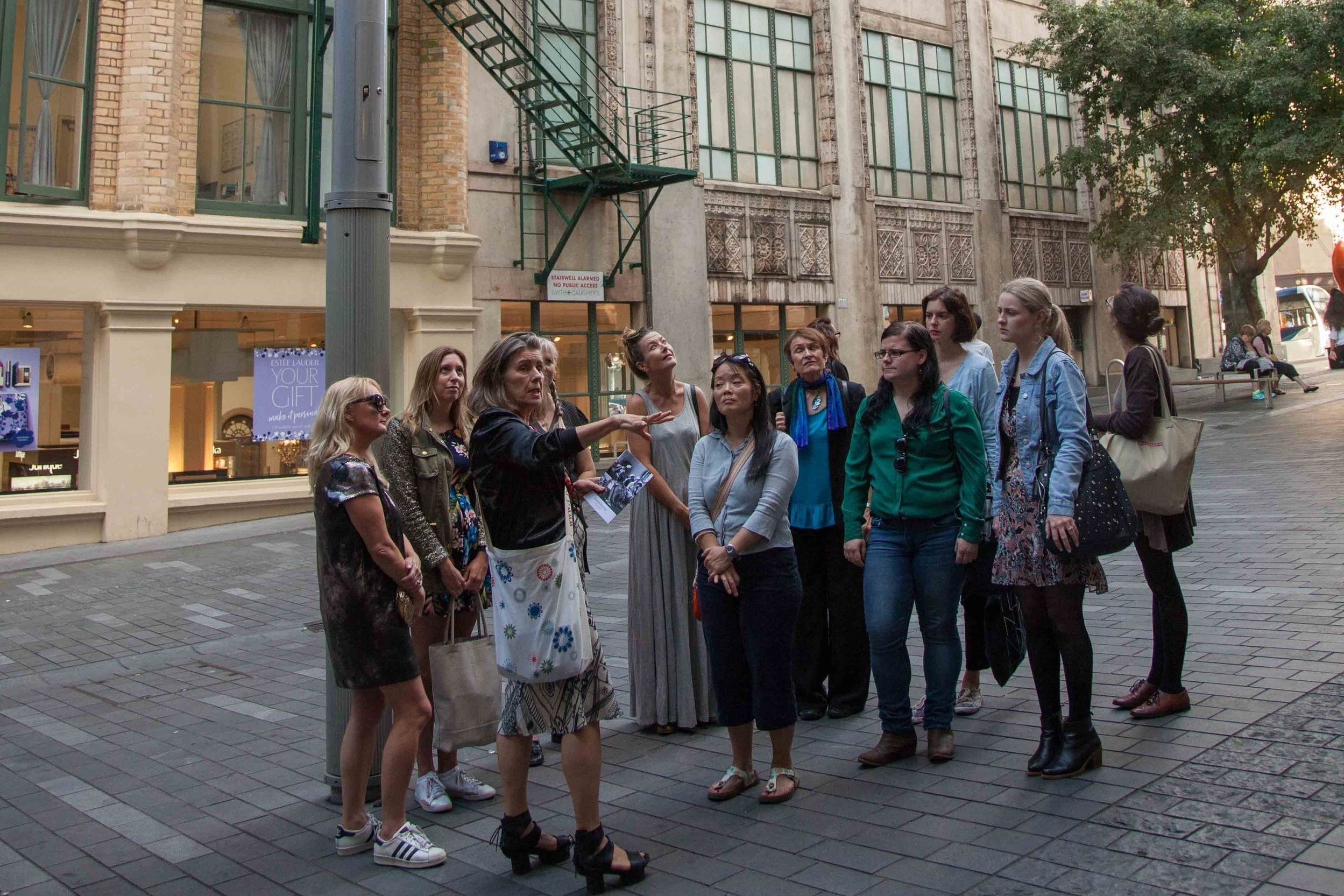 Walk the Walk: A History of Fashion in the City  Various locations in central Auckland  Wednesday 28 August | 10AM – 11AM & 12PM – 1PM Friday 30 August | 11AM – 12PM & 1PM – 2PM Saturday 31 August | 1.30PM – 2.30PM & 3.30PM – 4.30PM   The NZ Fashion Museum will be taking guests on 'Walk the Walk' fashion tours during NZ Fashion Week. Led by a personal guide, the tour traverses more than 150 years of fashion history within half a kilometre of central Auckland and offers a glimpse into the lives and stories of the people who established and advanced the city's fashion credentials.