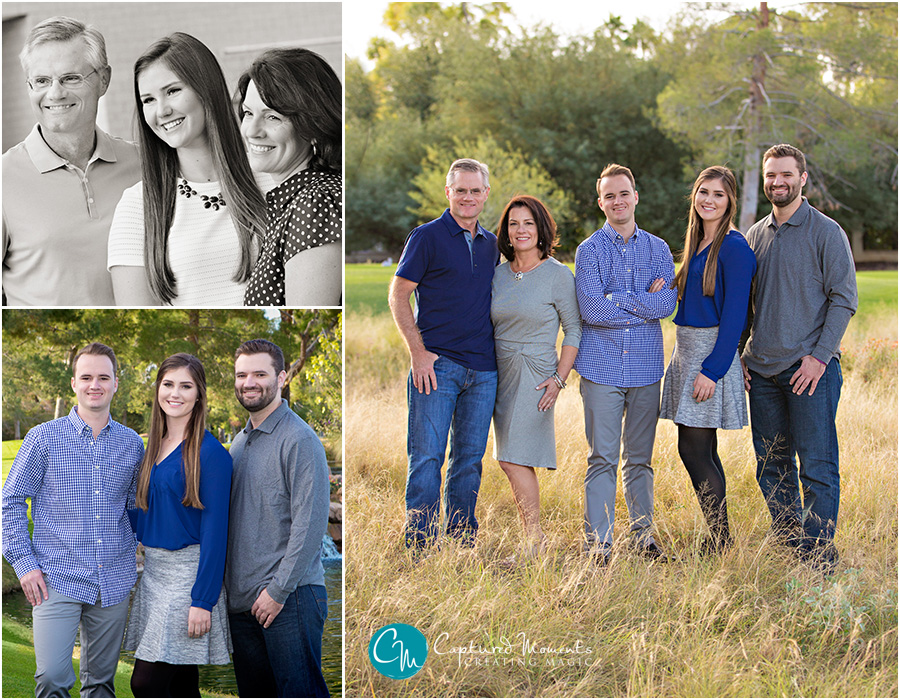 Martin Family Captured Moments by Rita and Company family portraits scottsdale