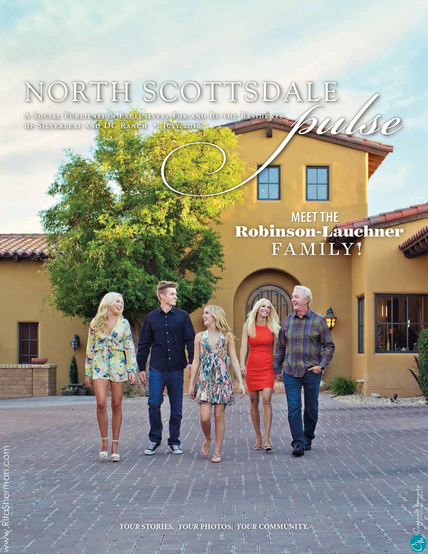 North Scottsdale Pulse Magazine Lauchner Family Captured Moments by Rita and Compay