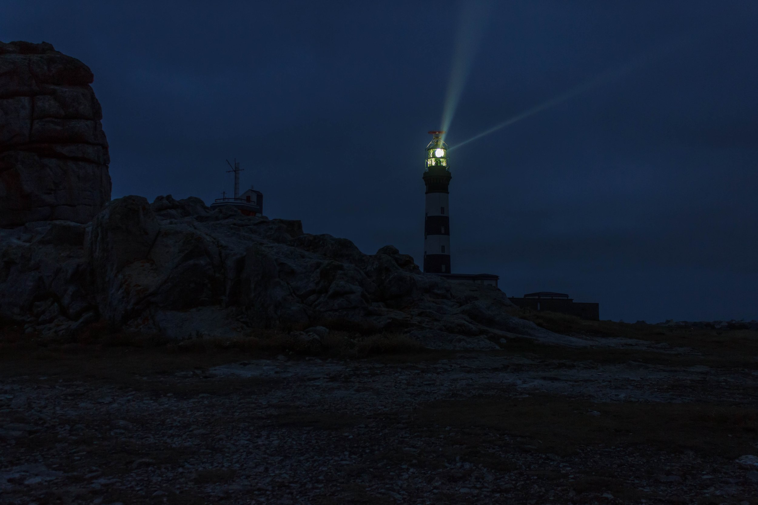 Sometimes we look for the beacon, sometimes we are the beacon.