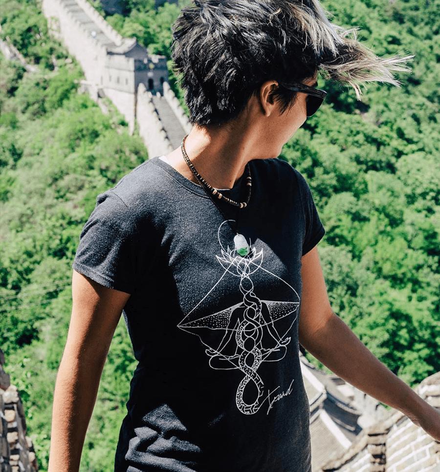 Women's Kundalini Shirt - LET THE ENERGY RISE