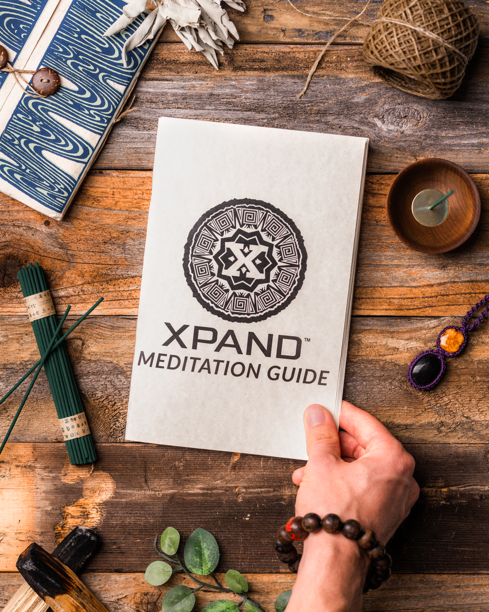 Also included! - The XPAND Meditation Guide instructional booklet is a powerful resource containing full descriptions of the contents, item-specific meditations, as well as bonus meditations.
