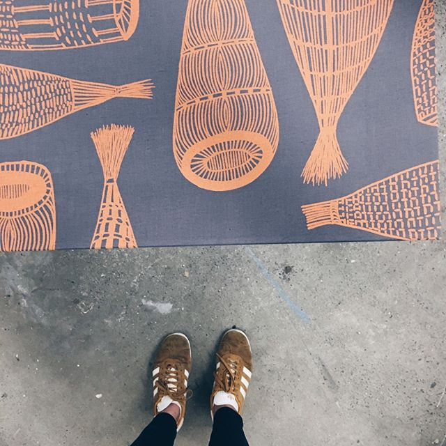 Indigenous artwork, printed on fabric ⠀ .⠀ .⠀ .⠀ #billabongframinggallery #pictureframing #customframing #wallart #fabric #textiles #indigenousart  #centralcoastnsw #shoplocal