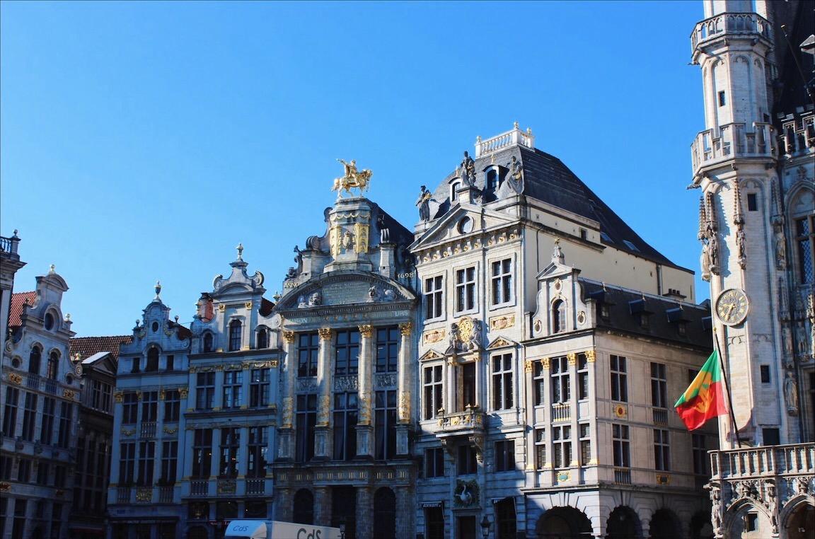 Grote platz brussels belgium