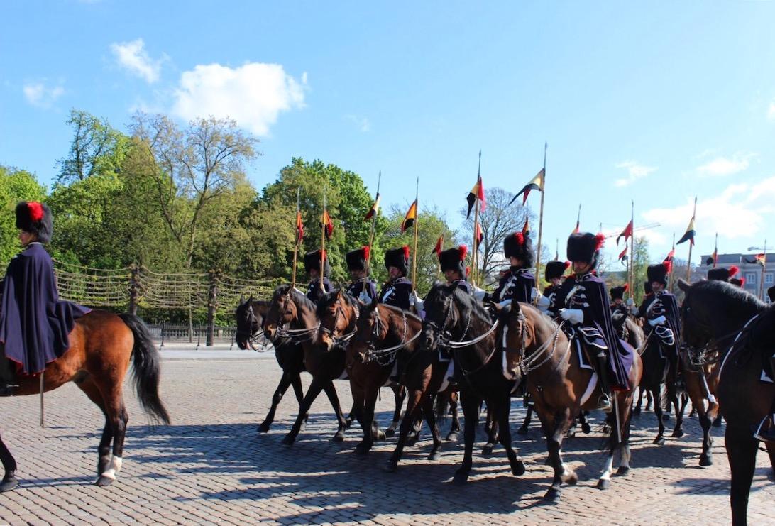 Horse brigade brussels