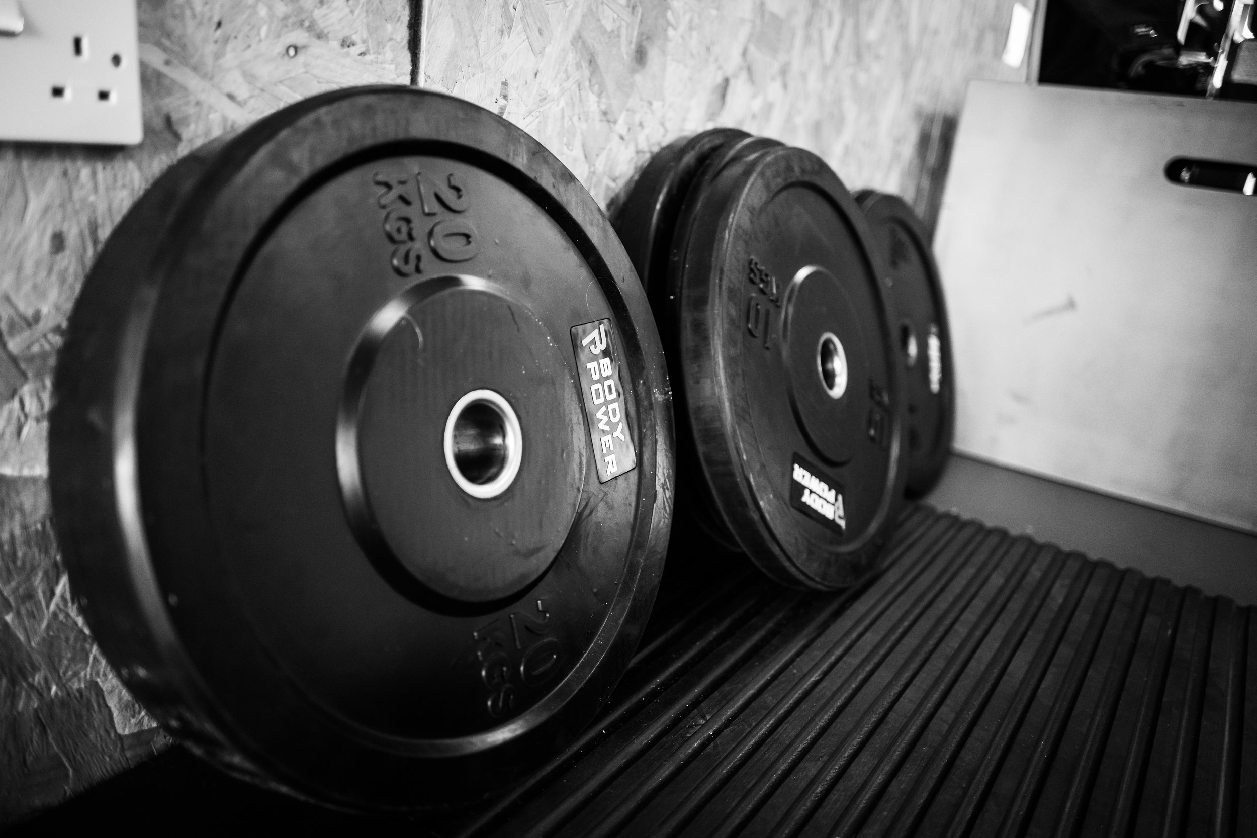 All free weights - No cardio machines. You can do those yourself, and they're not necessary anyway. We help people who have no idea what they're doing with free weights learn how to do it safely, effectively and ultimately, by themselves.