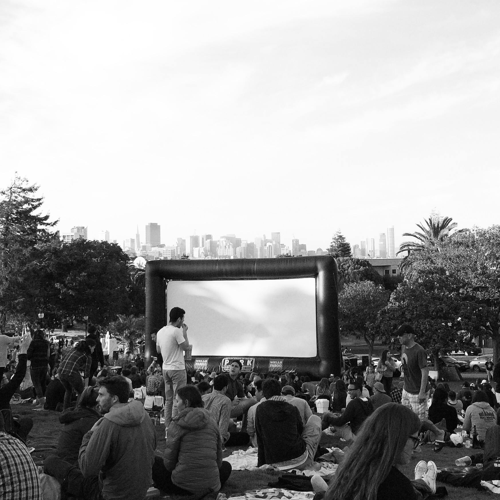 Movie in Delores Park
