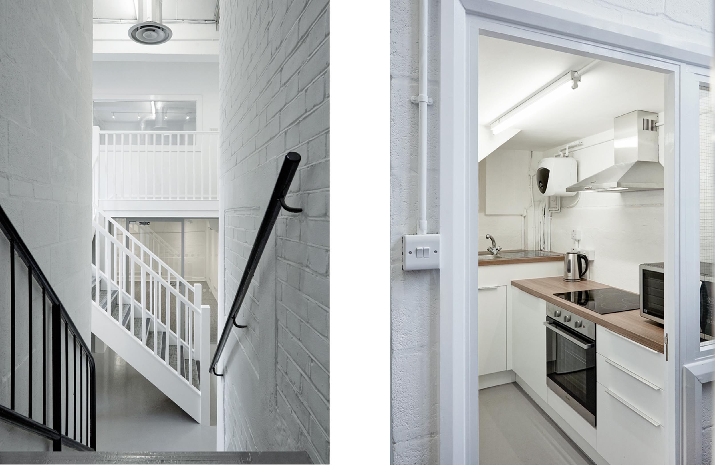 Landing / Kitchen