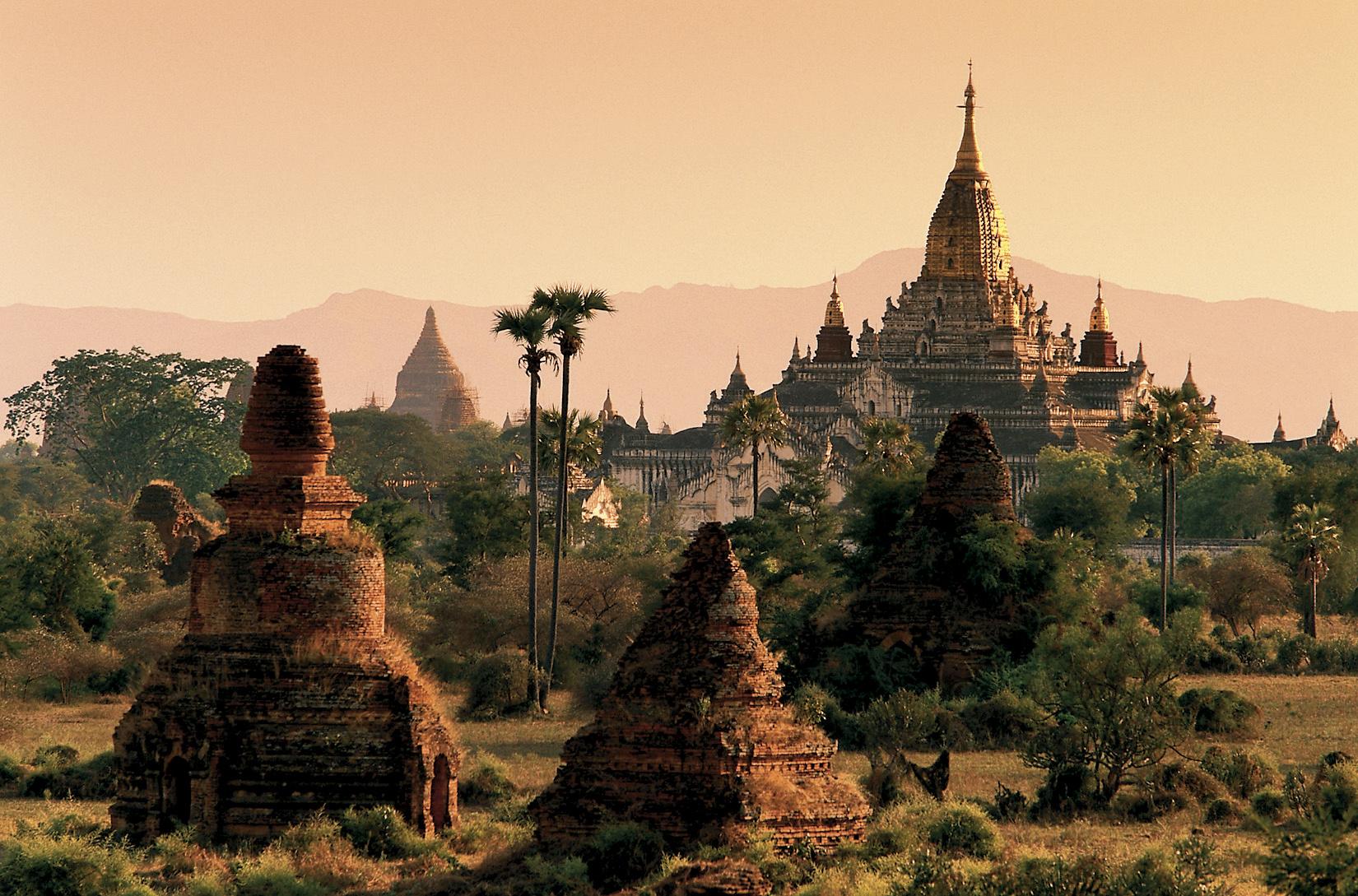 La vallée des temples, Birmanie