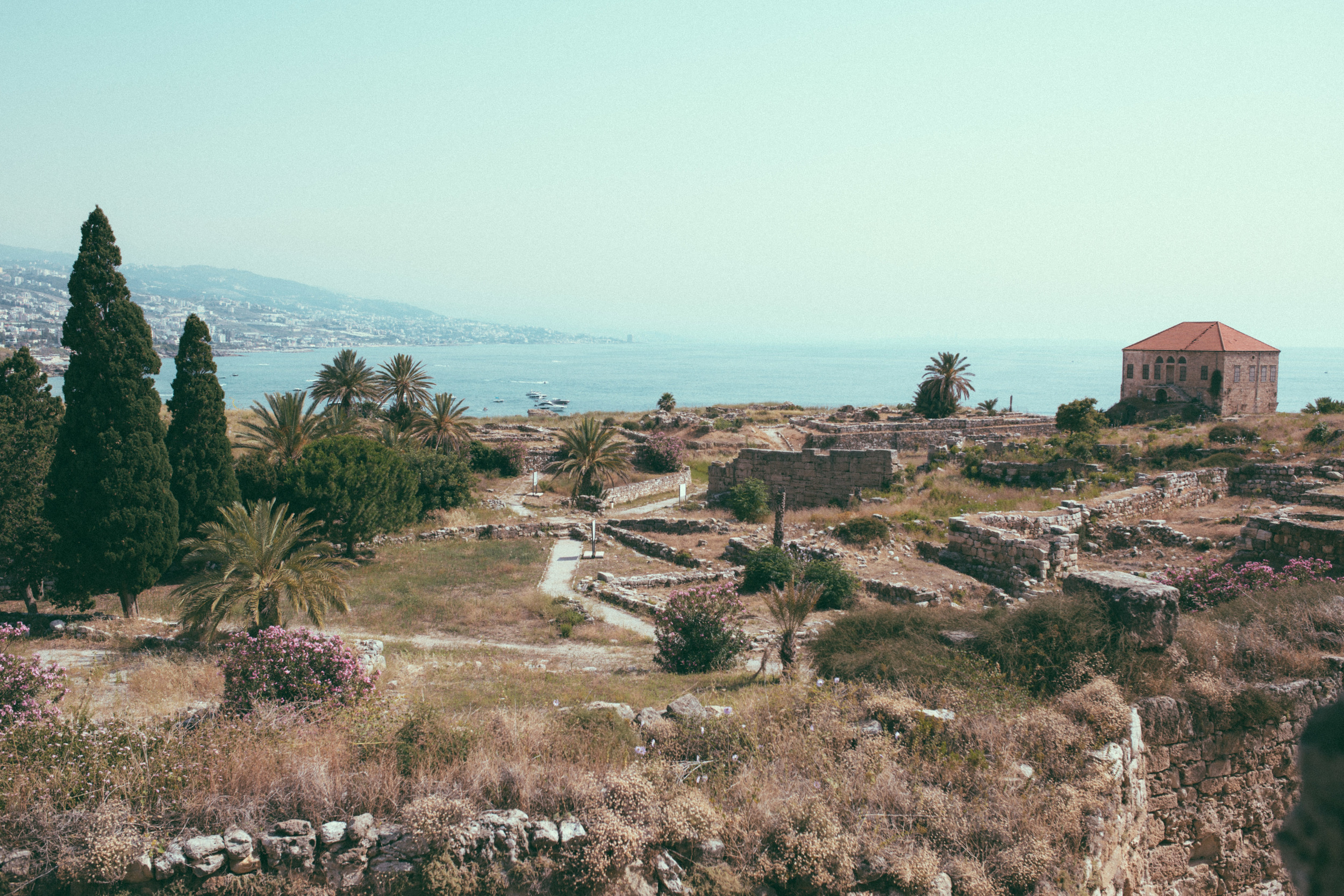 The ruins of glorious Byblos.