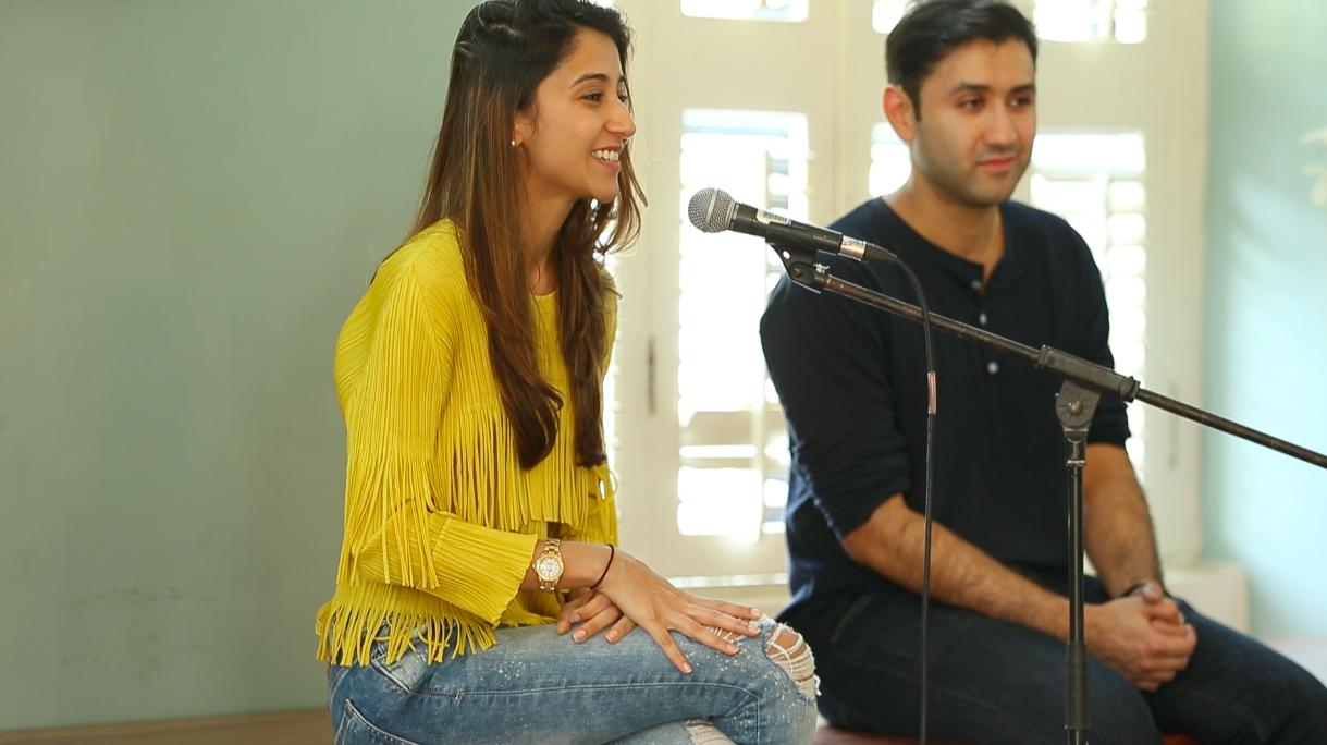 Dysco founders Khrisha and Mishal shah