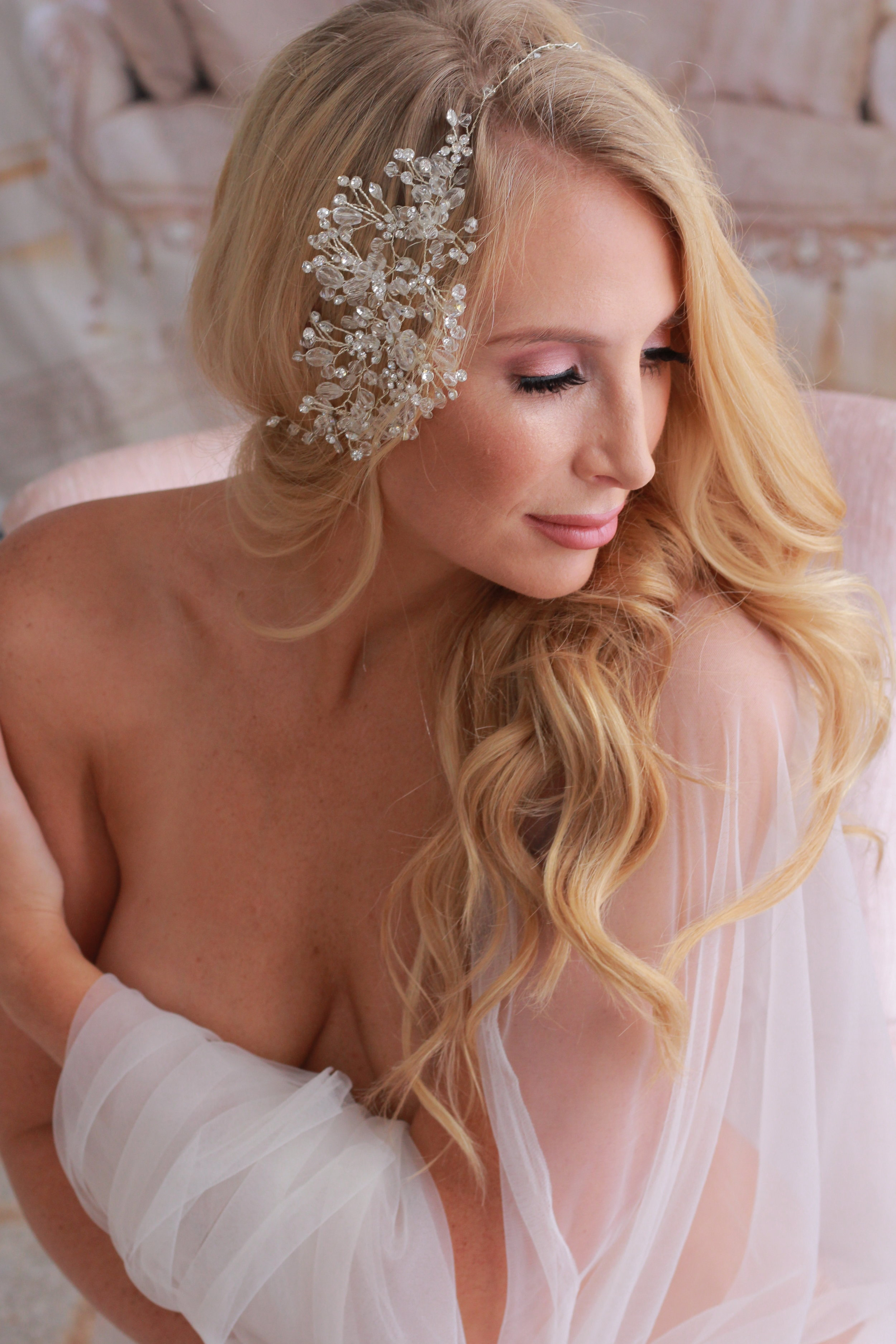 BRIDAL HAIR & MAKEUP TRIAL - We use 24 hour-wear airbrush foundation and high end water-resistant products to ensure longevity. Lashes are life- so each makeup application comes with a complimentary set of faux lashes!In Studio One Look $180 - Two Looks $250