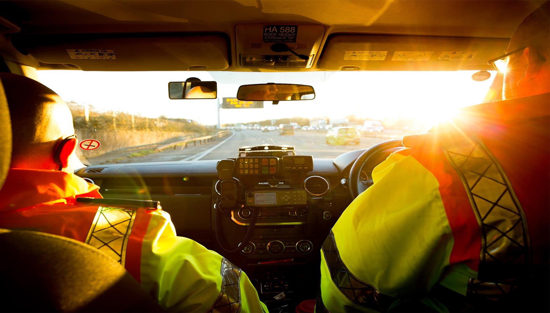Britain's Busiest Motorway