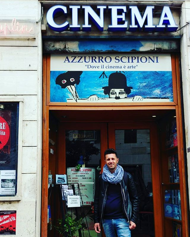 Cinema azzurro scipioni il tempio di #silvanoagosti #cinemaazzurroscipioni