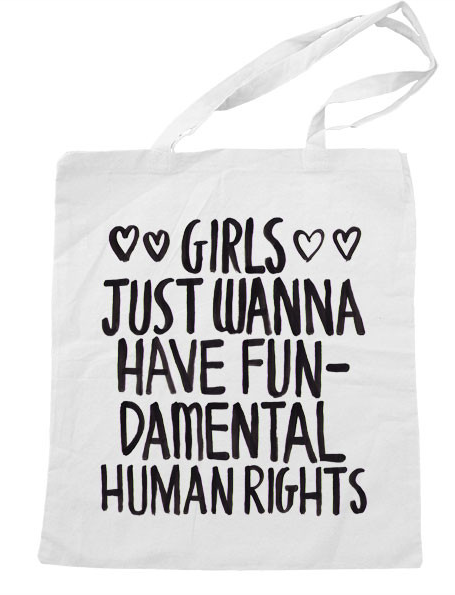 Girls Just Want to Have Fun Tote Bag