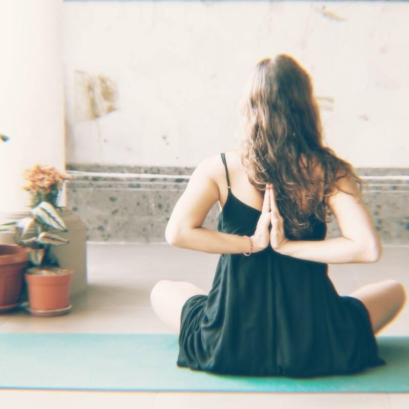 Woman Meditating Hands Back Prayer Position.jpg