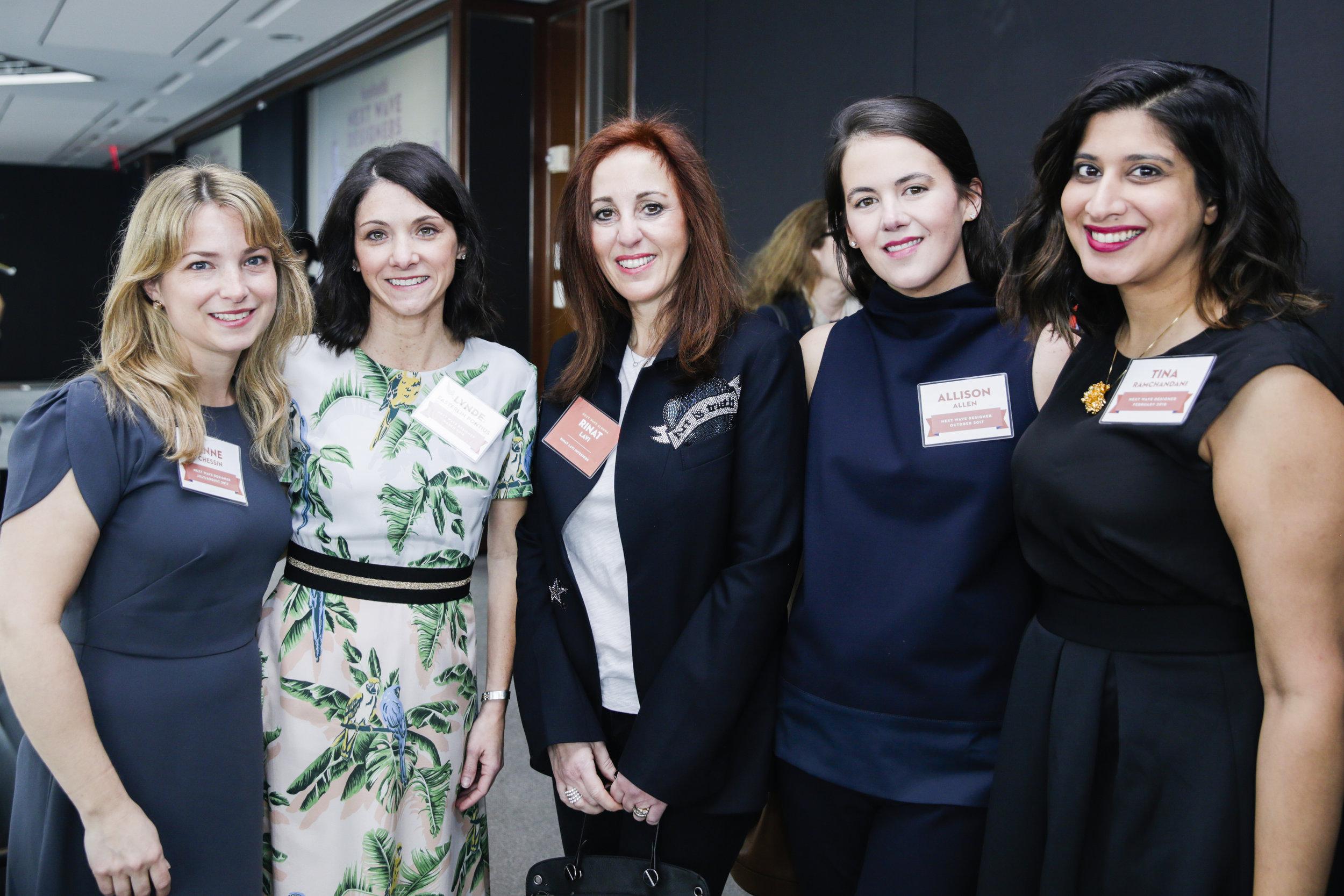 Anne Chessin, Lynde Easterlin Pontius, Rinat Lavi, Allison Allen, Tina Ramchandani