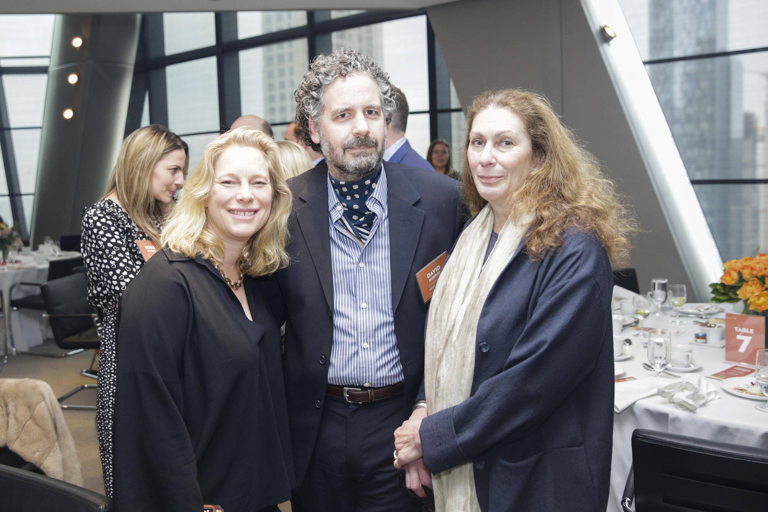 Sabine Rothman, David Murphy, and Lyn Schroeder