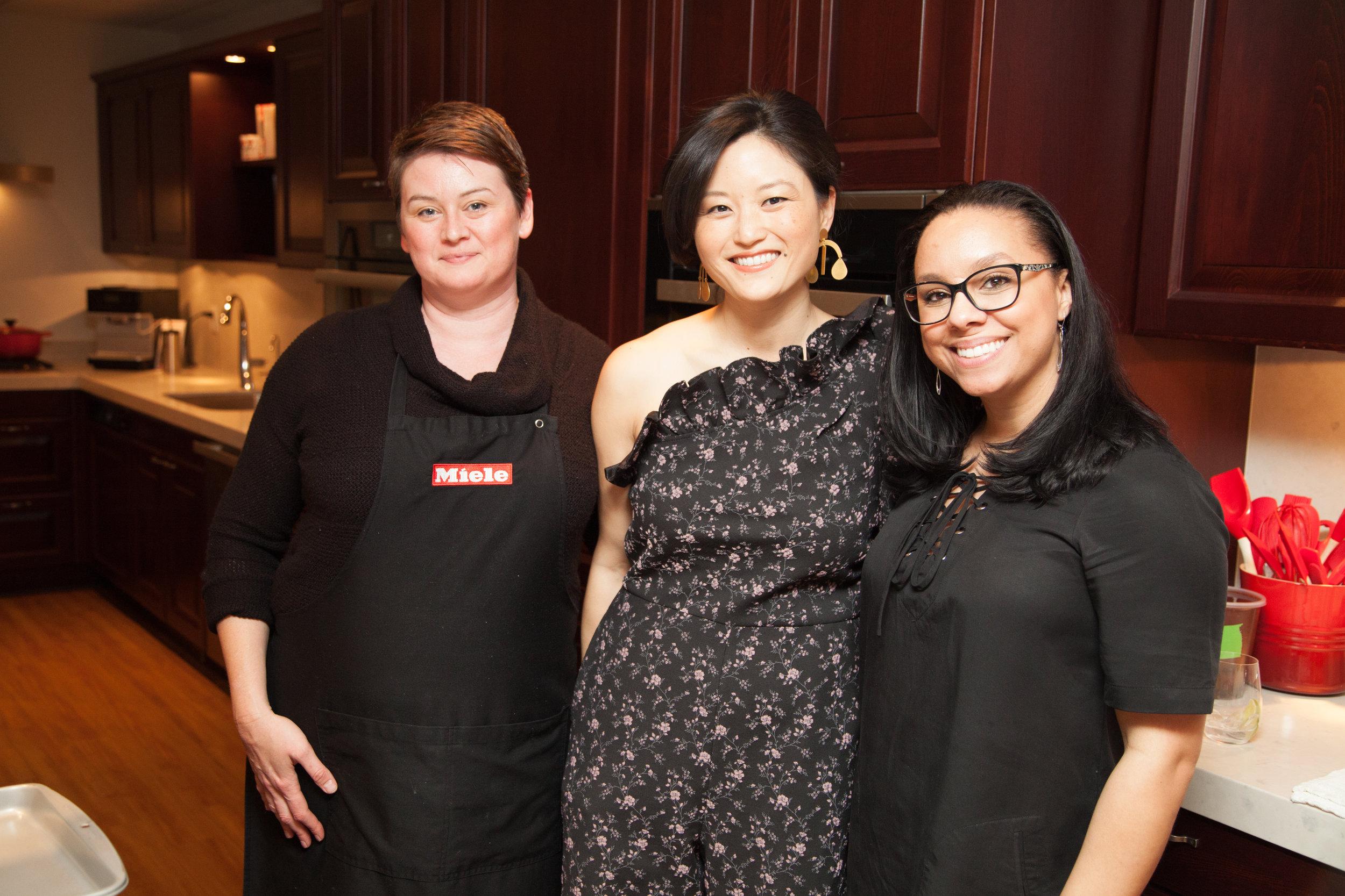 Stephanie Bone, Catherine Kwong, Monique Robinson