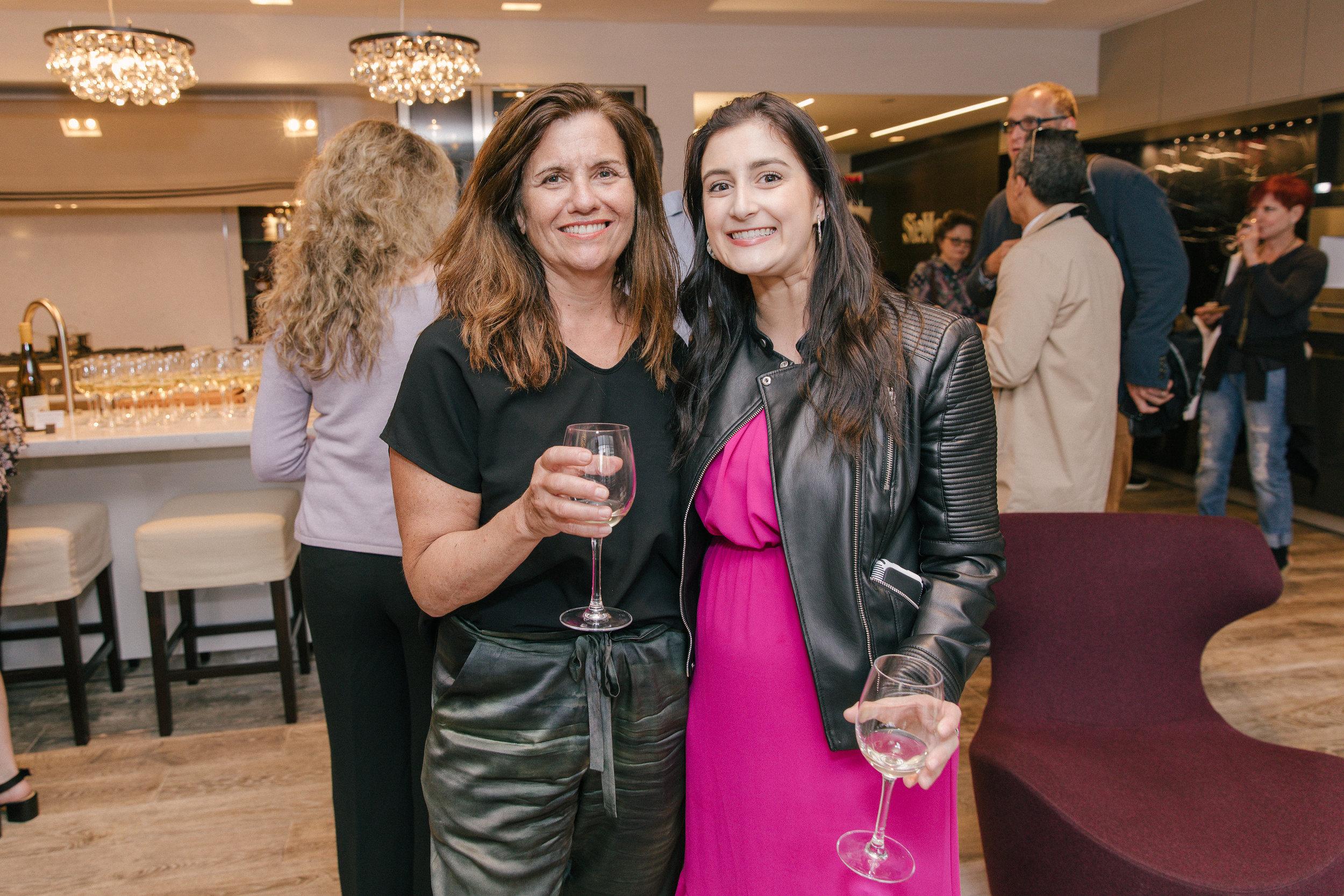 Veranda's Suzanne Noli, and Eden Sandlin