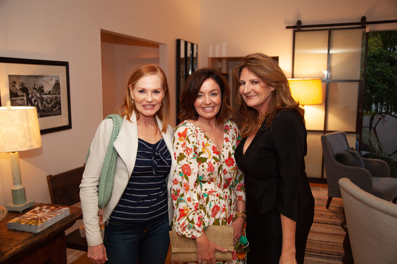 Marg Helgenberger, Anna Brockway and Kathryn M. Ireland