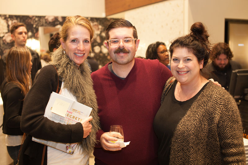 Karen Peterson, Cameron Mahlstede and Orli Ben-Dor