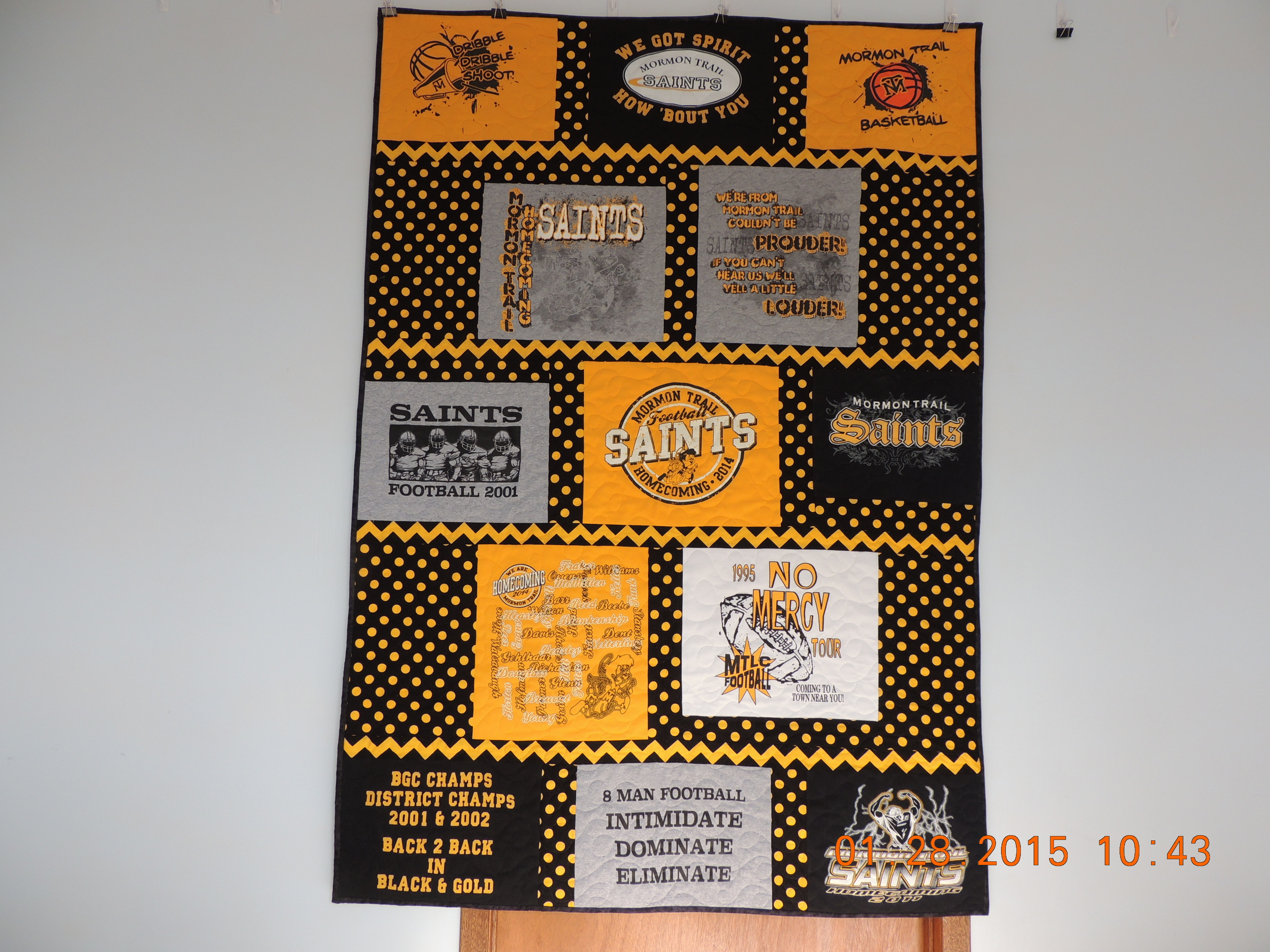 Quilt Used as a Fund Raiser