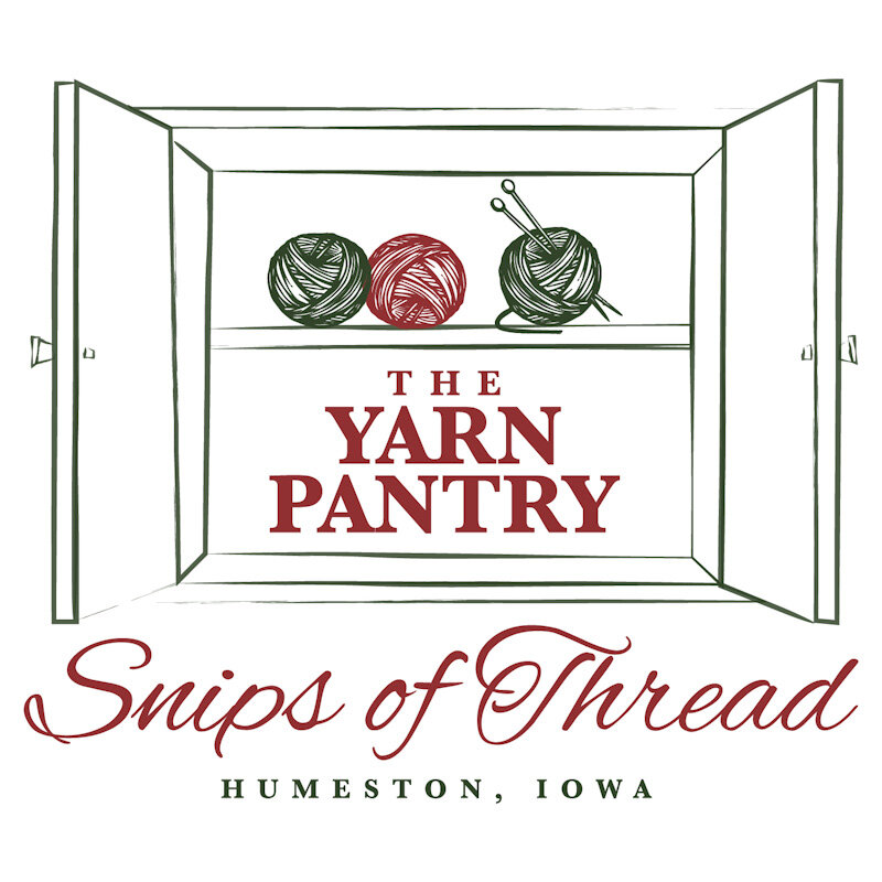 The sister shop of Snips of Thread Quilt Shop, The Yarn Pantry carries quality yarns, patterns, and needles in Humeston, Iowa. -