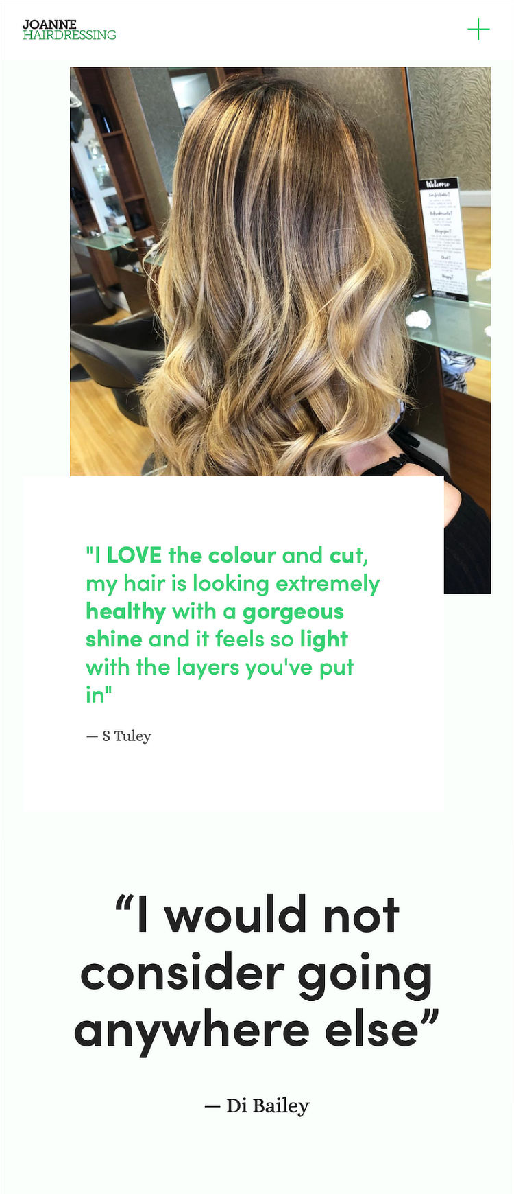 More than a salon - Home mobile screenshots vertical 2.jpg