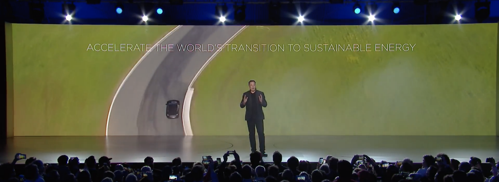 Musk's vision for the future: transition to sustainable energy