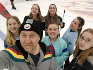 Youth Group Broomball