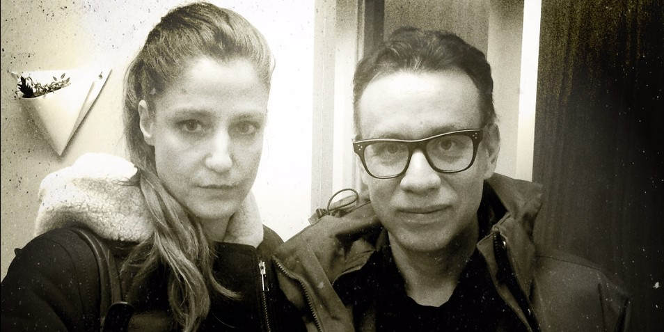 "Alix Lambert  (MFA Faculty) and Fred Armisen have a wide-ranging conversation touching upon such ""subjects as their mutual love of Bitmoji and airport texting, why Fred insisted  The Wizard of Oz  was a documentary to Alix's CalArts class, the incredible story surrounding Fred's half-brother's mother and the Stasi, and, of course, Portlandia, Documentary Now and his upcoming Spanish-language comedy show for Más Mejor"" on the latest podcast of  The Talkhouse . Click the  link  to listen to the podcast."