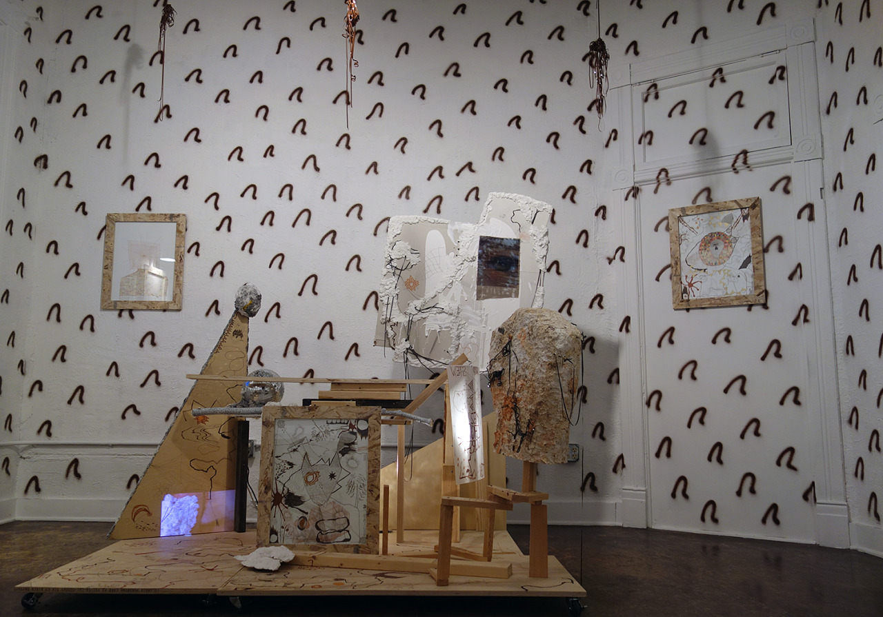 Check out this interview  Cultureisland  conducted with  Anthony Hawley  (MFA AP14) about his newest installation loculus, his artistic practice and how his family plays a large role in his work.