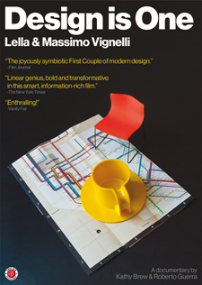 Kathy Brew (AP Faculty) has come out with   Design is One: Lella & Massimo Vignelli , a film about two of the world's most influential designers. The film is out for immediate release and available on dvd.