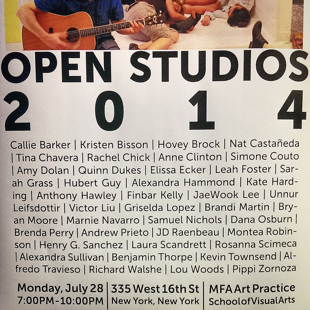2014 Open Studios , a set on Flickr. Summer 2014 Highlights: Art Practice Open Studios at 335 West 16th Street