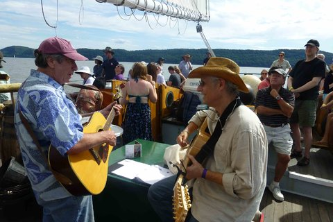 David A. Ross  (AP Chair)  performed at the 2014 Clearwater Festival  this past weekend.