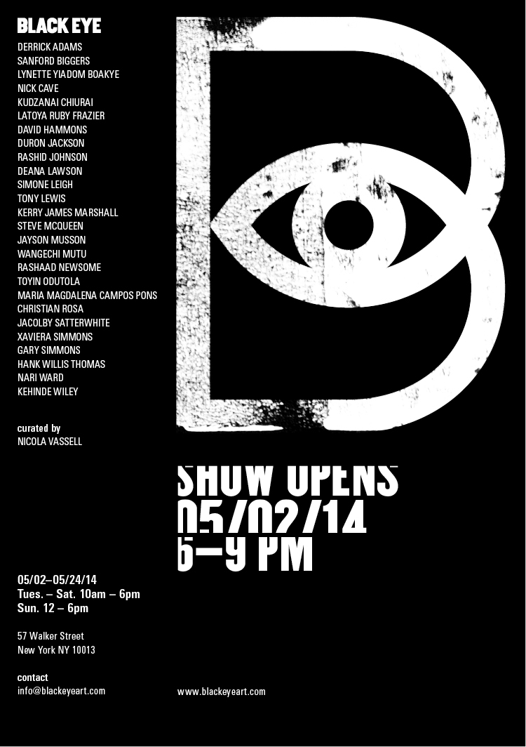 "AP Faculty Member  Gary Simmons  is participating in the upcoming group show  ""Black Eye"" ."