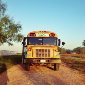 Leah Foster (MFA AP14) will be presenting her thesis project, the  Barona Bus project , a collaboration with Dr. Unami Mulale, at the Open Engagement Conference at the Queen Museum, May 16-18. The conference is free, but you must  register to attend .