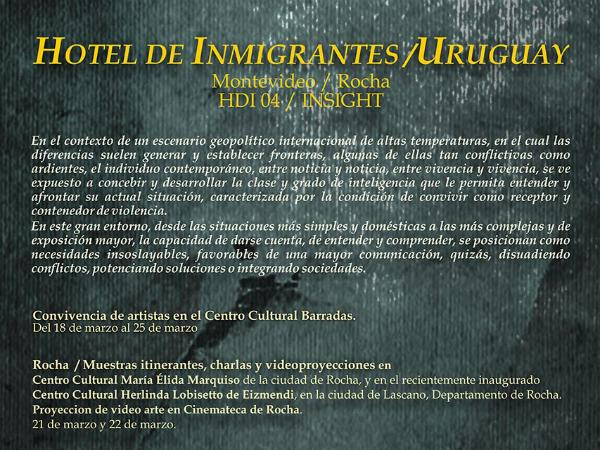 Work by JaeWook Lee (MFA AP14) will be featured in  Hotel de Immigrantes , a group show at the  Museo de Bellas Artes Juan Manuel Blanes  in Uruguay.