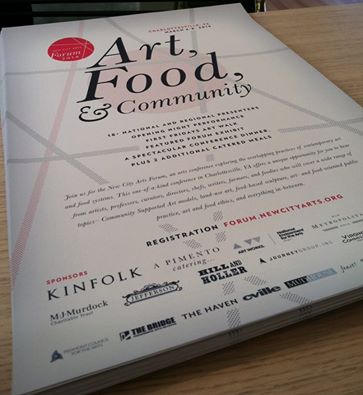 Jacquelyn Strycker  (AP Staff) will be presenting at the  New City Arts Forum on the intersection of Art, Food and Community  tomorrow.
