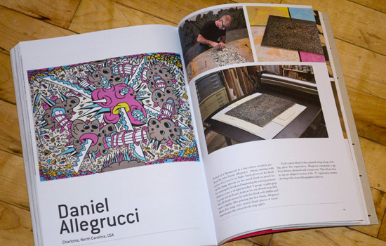 "Art Practice alumnus  Daniel Allegrucci  (MFA AP13) has work included the the McColl Center for Visual Art's current exhibition  ""Currencies: Real and Imagined.""    The show features the work of the 6 members of the collective Core Visual Art (Allegrucci, Crista Camarroto, Diane Hughes, Ashley Lathe, Laura McCarthy and Felicia van Bork) as well as work by Nathaniel Lancaster, Dred Scott and Mel Chin."