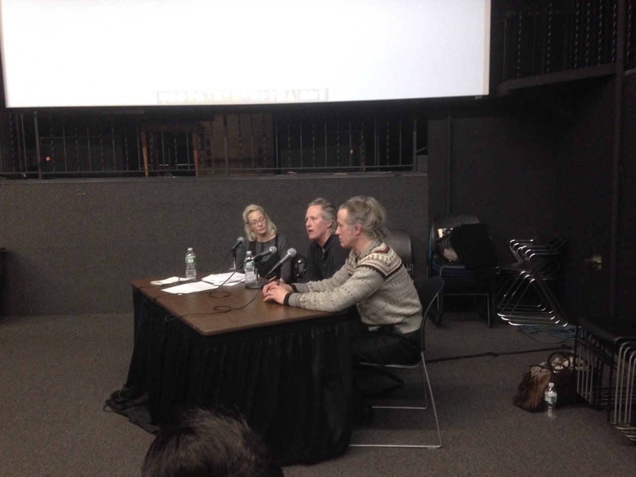 The Quay Brothers in conversation with Thyrza Goodeve (AP Faculty) at SVA Amphitheater